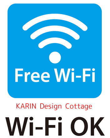 Free wifi is available in KARIN Design Cottage