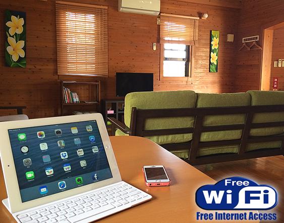 沖縄でWi-Fiインターネットのつかえるホテル宿